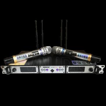 Mic Karaoke Shure UR-29D Plus