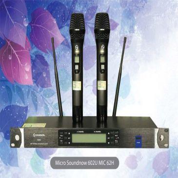 Micro Không Dây Karaoke Soundnow 602U